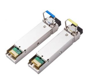China Bi-Directional SFP Optical Transceivers Module 1310/1550nm With 1.25Gbps on sale