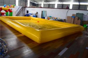 China PVC Tarpaulin 130cm Large Inflatable Water Pool For Adults on sale