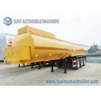 17000 L Molten Sulphur Chemical Liquid Tank  trailer Insulation SUS316L Tanker