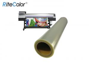 China Translucent Waterproof Inkjet Screen Printing Film For Textile Printing on sale