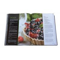 CMYK Recyled A3 Print Cookbook Custom Hardcover Cook Book Printing Services