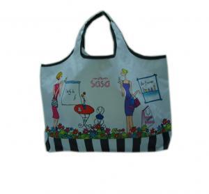 China reusable folding shopping bag on sale