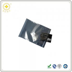 China PE anti static bag\shielding bag\0.075mm\APET+CPP\silver-gray on sale