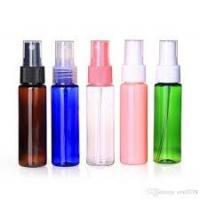 18/410 Aluminum Fine Mist Sprayer , Colorful Finger Pump Sprayer For Perfume