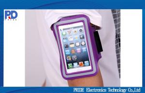China Adjustable Mobile Phone Accessory / iPhone 5s Waterproof Sports Armband on sale