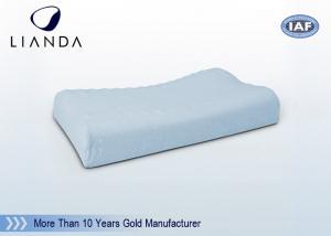 China Soft Contour Infant Memory Foam Pillow Wave Surface For Massage on sale