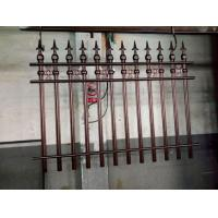 Wrought Iron Cast Iron Fence Rosettes For Home Decoration Iron Bar Fence