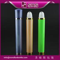 DR002-10ml luxury vibrating plastic roll on bottle for eye cream