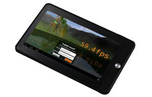 China 1024 * 600 Resolution Atom N455 10.1'' LED Backlight Tablet PC Windows 7 Multitouch on sale