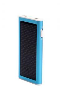 China Li-ion Polymer Rechargeable Battery Flashlight Solar Charger on sale