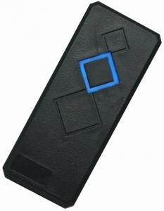 China Weather Proof RFID Door Card Reader 125KHz EM Readers with Blue LED For Access Control on sale