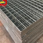 Heavy Duty Bar Welded Steel Bar Grating , Galvanized Steel Grating For Stair Treads