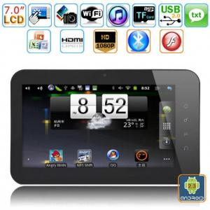 China 4GB 7inch  S5PV210 Cortex A8 Android 2.3 Tablet PC on sale