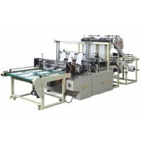 Heat Sealing Cold Cutting Automatic T-Shirt Bag Making Machine 5Kw 220V