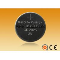 China CR2025 3V lithium watch battery on sale