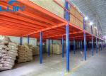 2 - assoalhos de mezanino industriais da cremalheira do armazenamento dos níveis com o revestimento do aço/madeira compensada