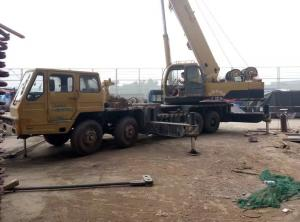 China 50 Ton Crane For Sale in China, 50 Ton Truck Crane XCMG Used Crane in Middle East on sale