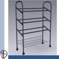 3 -Tier and 1 bottom shelf adding shoe rack