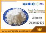 Progestogen CAS 60282-87-3 Pharmaceutical Raw Materials Gestodene Female Sex Hormones