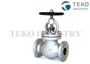 China F7319 10K Cast Steel SDNR Straight Type JIS Globe Valve For Pipe System on sale