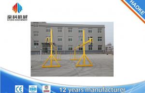 China Yellow Painted 6m Suspended Platform Cradle ZLP630 Suspended Access Equipment on sale