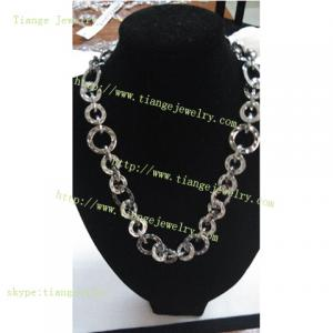 China High Polished Stainless Steel Chain Necklace on sale