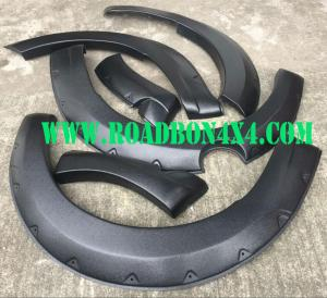 China Mazda BT50 BT-50 2012 2013 2014- 2017 Black Fender Flares Flare kit Wheel Arches on sale