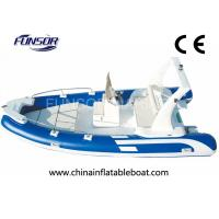 High Performance Folding Fish Hunter Inflatable Boat 10 Person RIB550