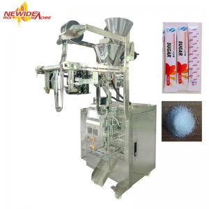 China PLC Control Small Stick Sachet Packing Machine For 5g Granulated Sugar on sale