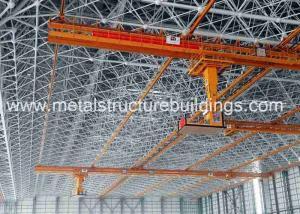 China ASTM CE Prefab Steel Frame Building , Contemporary Prefab Homes Workshop on sale