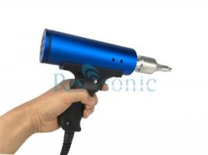 China Handheld Ultrasonic Plastic Welder , 28KHz Ultrasonic Plastic Welding Machine on sale