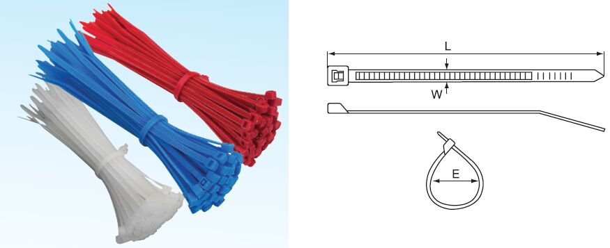 "Cable Zip Ties Wire Straps 370 mm Black 14-1//2/"" Nylon 500 pc"