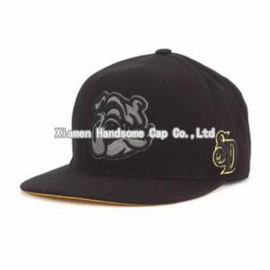 China Wholesale or Custom 3D Embroidery Snapback Baseball Cap SC-025 on sale