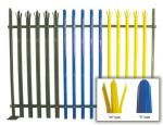 Steel Palisade Wire Mesh Fence Panels High Security Powder Coated Surface