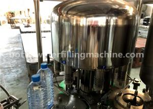 China 3-In-1 Unit Mineral Water Bottle Filling Capping And Labeling Machine on sale