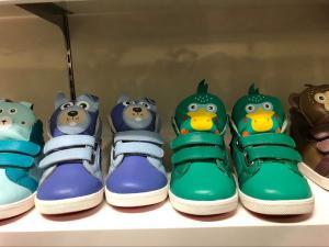 China 2-5 year old baby walking shoe animal printing casual shoe velcro strap fashion design on sale