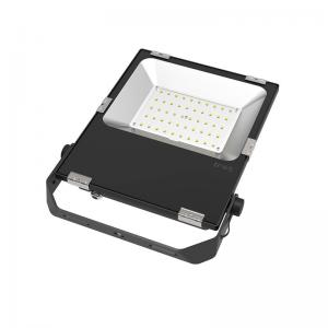 China 50W AC 100-240V Bridgelux 3030 5000-5500LM 2700-6500K LED Flood Light on sale
