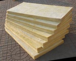 China yellow glass wool board on sale