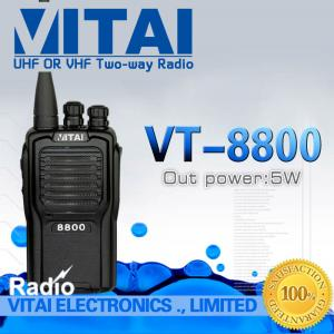 China High Performance VITAI VT-8800 Professional Walkie Talkie VHF UHF Two Way Radio FM Transceiver 5W 16CH CE Certificate on sale