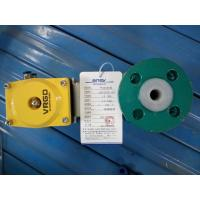 Dn25 Mining Consumables , Mining Equipment Spares Fluorine Pneumatic Ball Valve