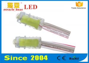 China 9mm DC5V 0.15w Yellow Color Led Pixel Light IP 67 Protection For LED Sign Lighting on sale