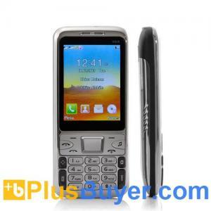 China Bullet - Slim Dual SIM Bar Phone (Bluetooth, Analog TV, Quadband) on sale