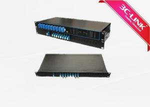 "China 8 Channel Unit DWDM C Band Channels Into Passive DWDM System For 19"" Rack Type Installation / 1 HU on sale"