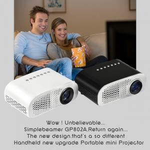 Quality simplebeamer GP802A double HDMI port new mini led projector,Micro Portable game for sale