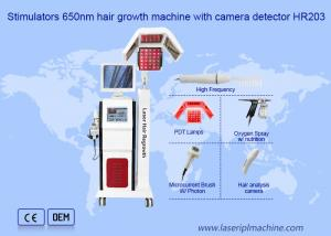 China Hair Loss Treatment 808nm 90Hz Laser Hair Regrowth Machine on sale