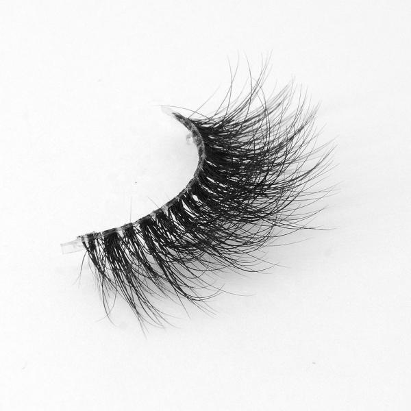 Makeup Natural Mink Lashes Durable D Curl Mink Lashes Full Strip