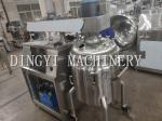 Button Control Vacuum Mixer Machine For Ointment And Cream Products
