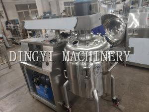 China Button Control Vacuum Mixer Machine For Ointment And Cream Products on sale