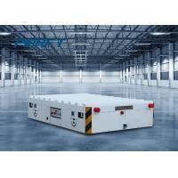 30 Ton Motorized Trackless Transfer Cart For Workshop Material Transport