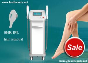 China multifunctional 3 system in 1 machine IPL SHR E-light hair removal machine / IPL hair removal 16*50mm big spot size on sale